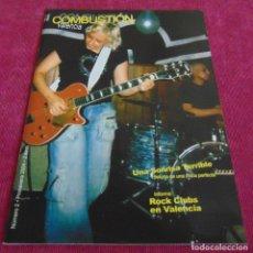 Catálogos de Música: FANZINE COMBUSTION VALENCIA NUMERO 2 -. Lote 132792898