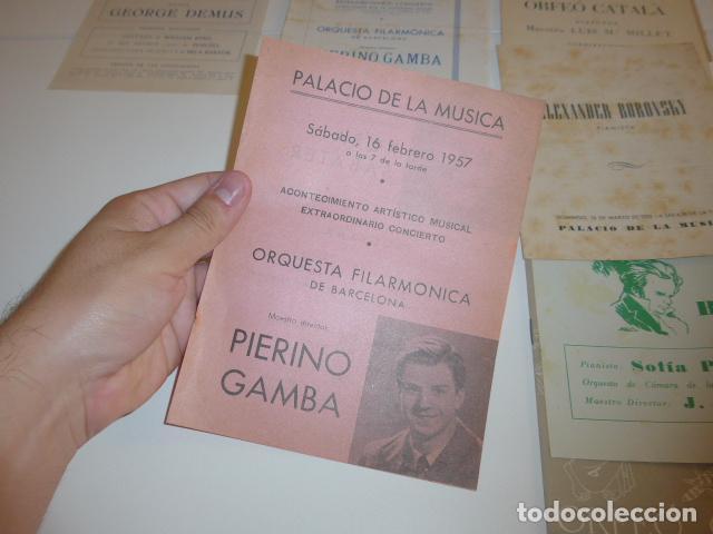 Catálogos de Música: Gran lote de 39 catalogo y folleto de palacio de la musica catalana, originales. Variedad. - Foto 13 - 132904486