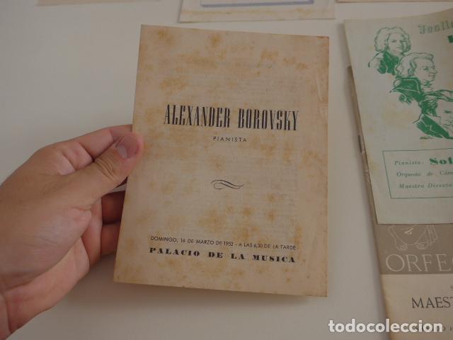 Catálogos de Música: Gran lote de 39 catalogo y folleto de palacio de la musica catalana, originales. Variedad. - Foto 14 - 132904486