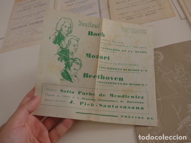 Catálogos de Música: Gran lote de 39 catalogo y folleto de palacio de la musica catalana, originales. Variedad. - Foto 16 - 132904486