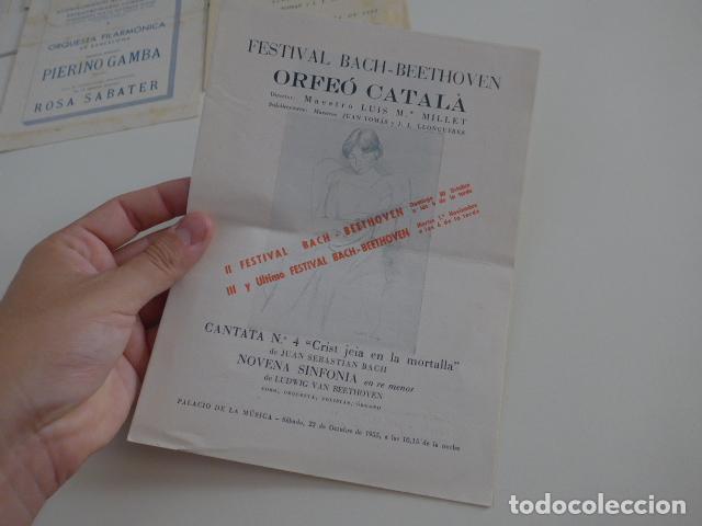 Catálogos de Música: Gran lote de 39 catalogo y folleto de palacio de la musica catalana, originales. Variedad. - Foto 22 - 132904486