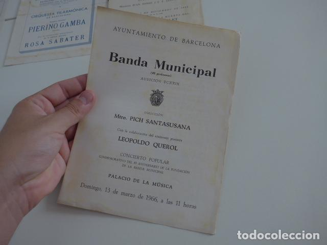 Catálogos de Música: Gran lote de 39 catalogo y folleto de palacio de la musica catalana, originales. Variedad. - Foto 23 - 132904486