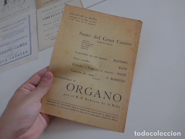 Catálogos de Música: Gran lote de 39 catalogo y folleto de palacio de la musica catalana, originales. Variedad. - Foto 24 - 132904486