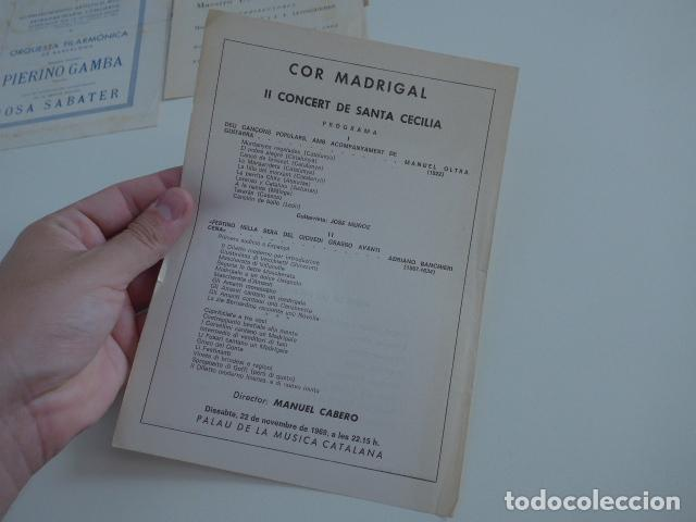 Catálogos de Música: Gran lote de 39 catalogo y folleto de palacio de la musica catalana, originales. Variedad. - Foto 25 - 132904486