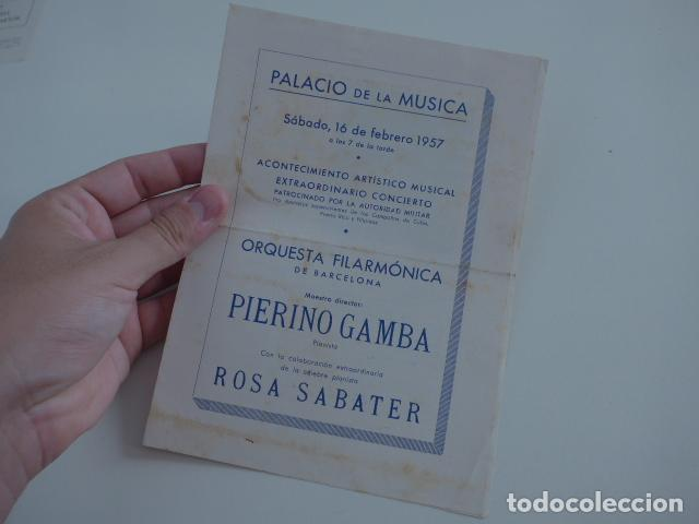 Catálogos de Música: Gran lote de 39 catalogo y folleto de palacio de la musica catalana, originales. Variedad. - Foto 28 - 132904486
