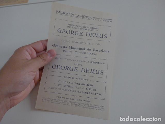 Catálogos de Música: Gran lote de 39 catalogo y folleto de palacio de la musica catalana, originales. Variedad. - Foto 29 - 132904486