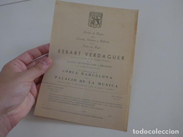 Catálogos de Música: Gran lote de 39 catalogo y folleto de palacio de la musica catalana, originales. Variedad. - Foto 31 - 132904486