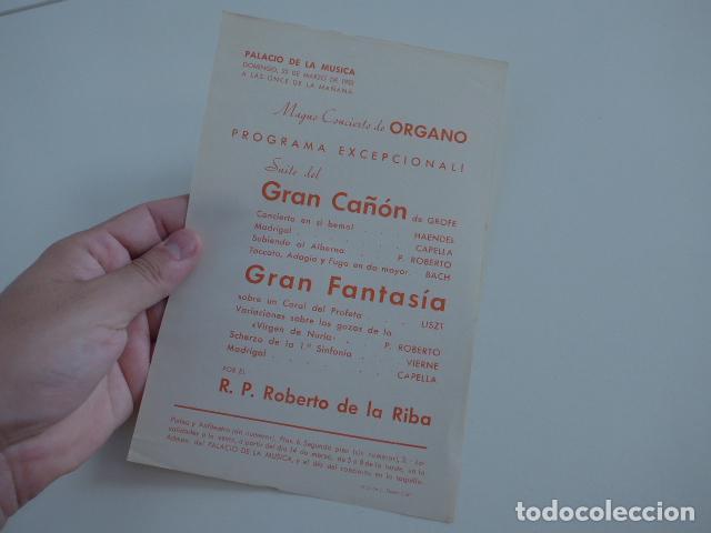 Catálogos de Música: Gran lote de 39 catalogo y folleto de palacio de la musica catalana, originales. Variedad. - Foto 33 - 132904486