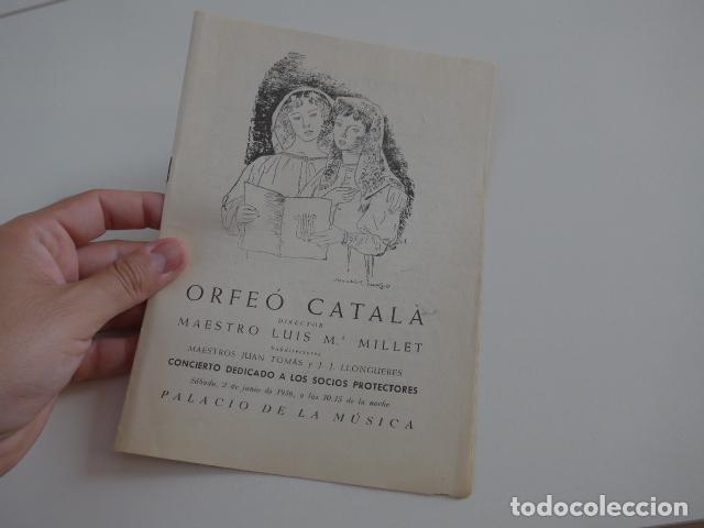 Catálogos de Música: Gran lote de 39 catalogo y folleto de palacio de la musica catalana, originales. Variedad. - Foto 34 - 132904486