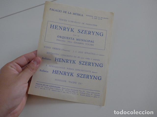 Catálogos de Música: Gran lote de 39 catalogo y folleto de palacio de la musica catalana, originales. Variedad. - Foto 36 - 132904486