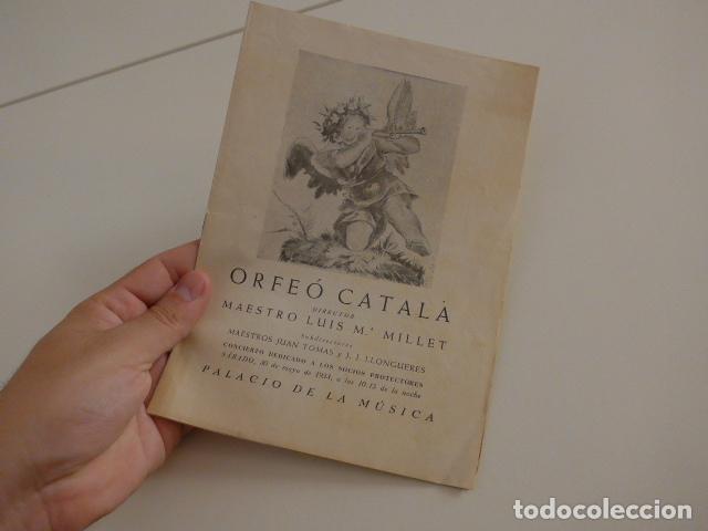 Catálogos de Música: Gran lote de 39 catalogo y folleto de palacio de la musica catalana, originales. Variedad. - Foto 38 - 132904486