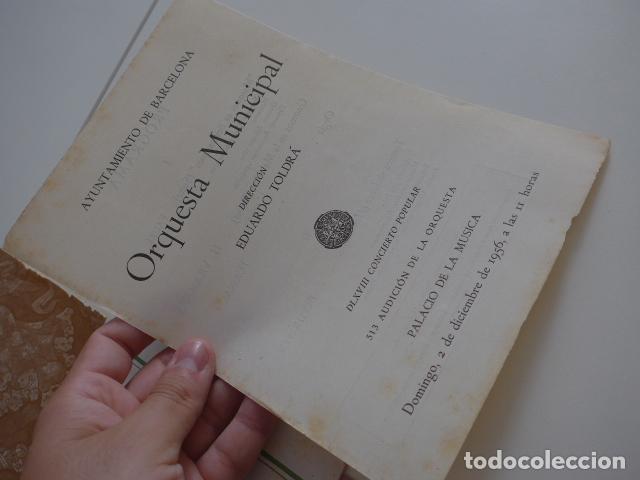 Catálogos de Música: Gran lote de 39 catalogo y folleto de palacio de la musica catalana, originales. Variedad. - Foto 39 - 132904486