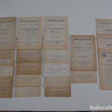 Catálogos de Música - Gran lote de 21 catalogo associacio obrera de concerts de palacio de la musica catalana, originales. - 132907558