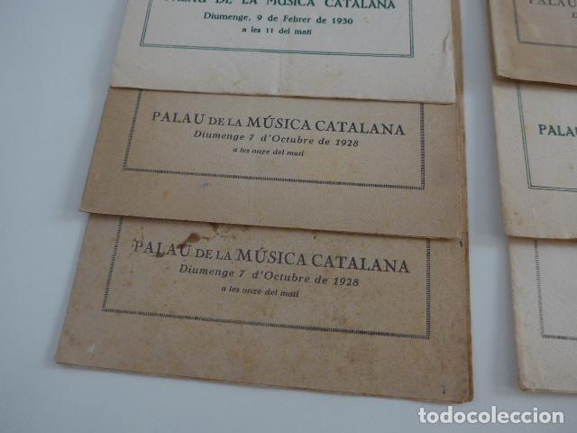 Catálogos de Música: Gran lote de 21 catalogo associacio obrera de concerts de palacio de la musica catalana, originales. - Foto 2 - 132907558
