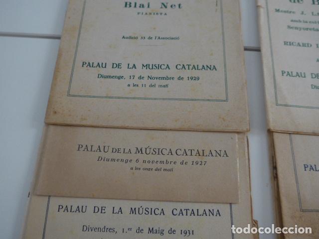 Catálogos de Música: Gran lote de 21 catalogo associacio obrera de concerts de palacio de la musica catalana, originales. - Foto 4 - 132907558