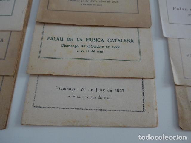 Catálogos de Música: Gran lote de 21 catalogo associacio obrera de concerts de palacio de la musica catalana, originales. - Foto 5 - 132907558