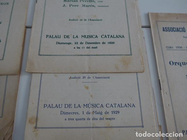 Catálogos de Música: Gran lote de 21 catalogo associacio obrera de concerts de palacio de la musica catalana, originales. - Foto 10 - 132907558