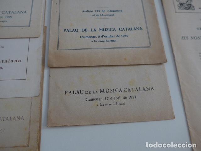 Catálogos de Música: Gran lote de 21 catalogo associacio obrera de concerts de palacio de la musica catalana, originales. - Foto 11 - 132907558