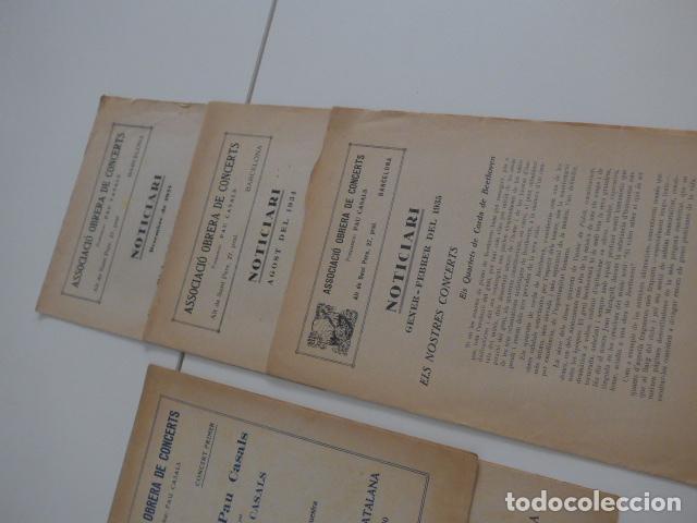 Catálogos de Música: Gran lote de 21 catalogo associacio obrera de concerts de palacio de la musica catalana, originales. - Foto 13 - 132907558