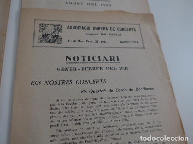 Catálogos de Música: Gran lote de 21 catalogo associacio obrera de concerts de palacio de la musica catalana, originales. - Foto 14 - 132907558