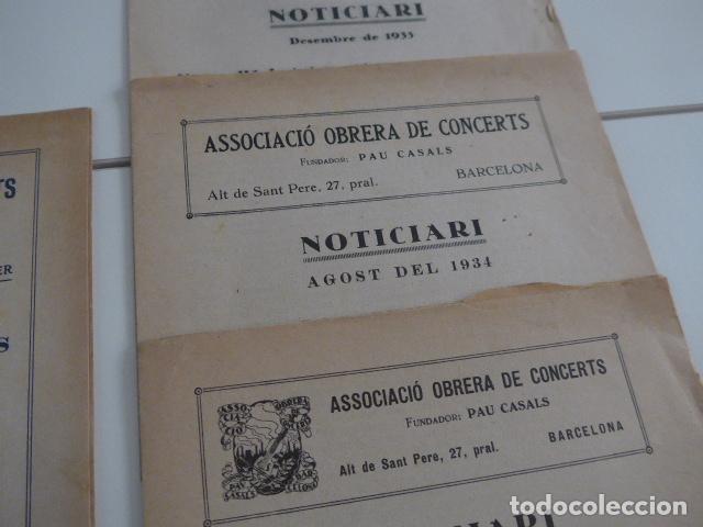 Catálogos de Música: Gran lote de 21 catalogo associacio obrera de concerts de palacio de la musica catalana, originales. - Foto 15 - 132907558
