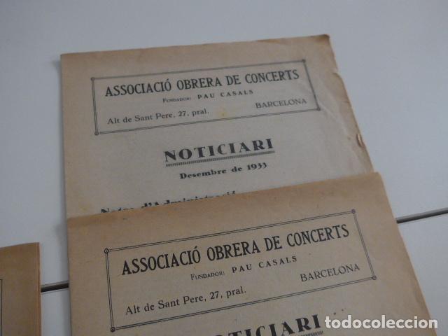 Catálogos de Música: Gran lote de 21 catalogo associacio obrera de concerts de palacio de la musica catalana, originales. - Foto 16 - 132907558