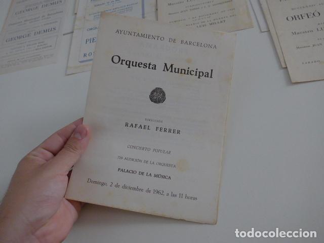 Catálogos de Música: Gran lote de 39 catalogo y folleto de palacio de la musica catalana, originales. Variedad. - Foto 40 - 132904486
