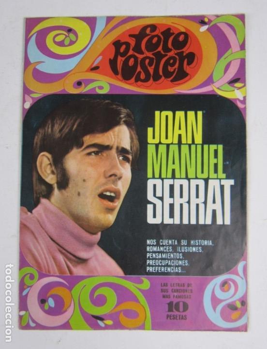 Catálogos de Música: Foto posters Joan Manuel Serrat, 1960S. VER FOTOS - Foto 2 - 133303462