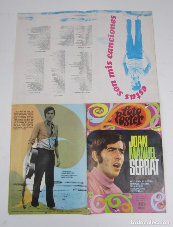 Catálogos de Música: Foto posters Joan Manuel Serrat, 1960S. VER FOTOS - Foto 5 - 133303462