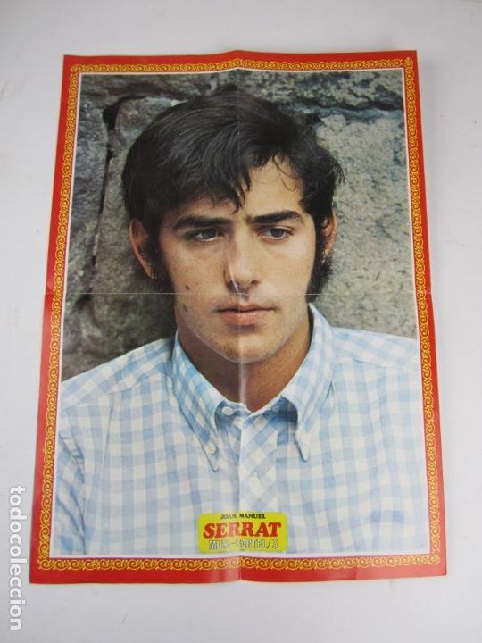Catálogos de Música: Foto posters Joan Manuel Serrat, 1960S. VER FOTOS - Foto 7 - 133303462