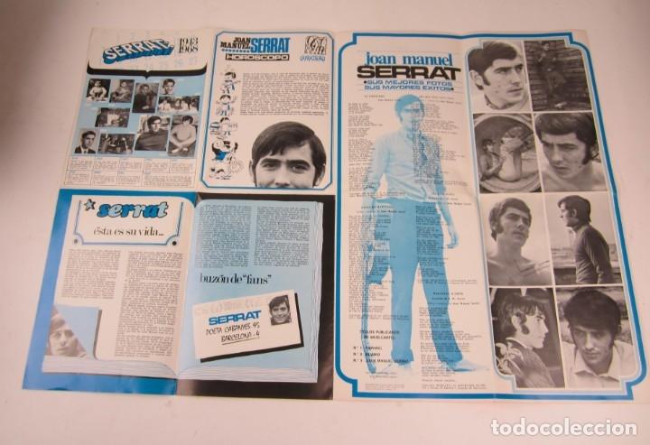 Catálogos de Música: Foto posters Joan Manuel Serrat, 1960S. VER FOTOS - Foto 9 - 133303462