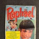 Catálogos de Música: RAPHAEL. EL ÍDOLO DEL MOMENTO. CANCIONERO. EDITA: EDICIONES BISTAGNE. NO.183 (A.1966). Lote 133685967