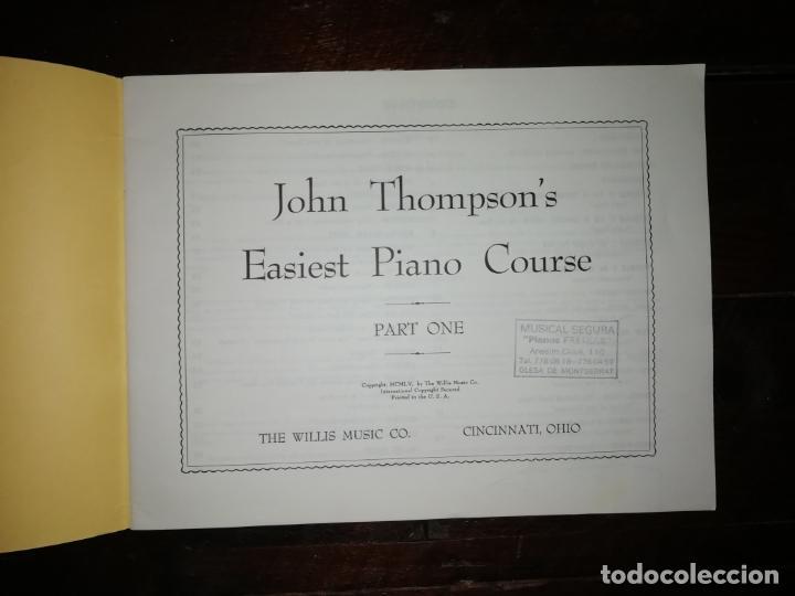 Catálogos de Música: John thompson´s Easiest Piano Course part one - libreto - (Inglés) tamaño DIN A4 aprox - Foto 3 - 134041426