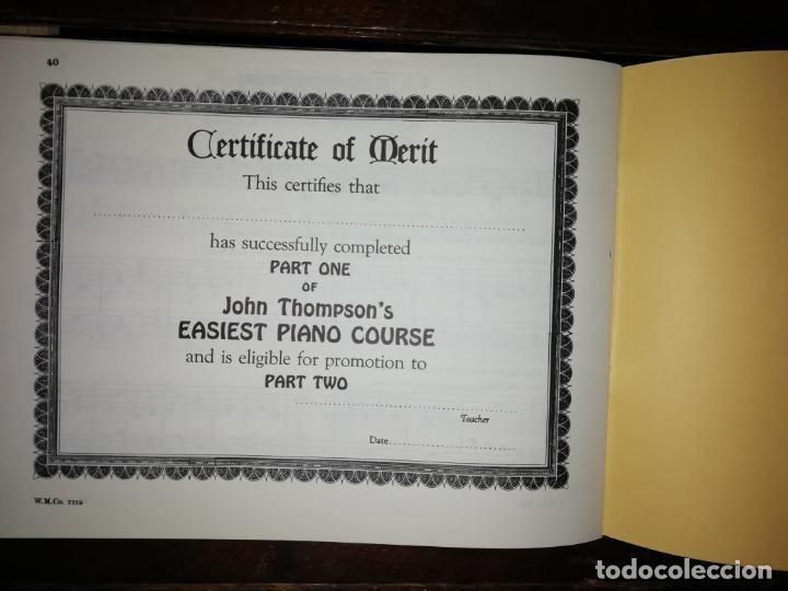 Catálogos de Música: John thompson´s Easiest Piano Course part one - libreto - (Inglés) tamaño DIN A4 aprox - Foto 6 - 134041426