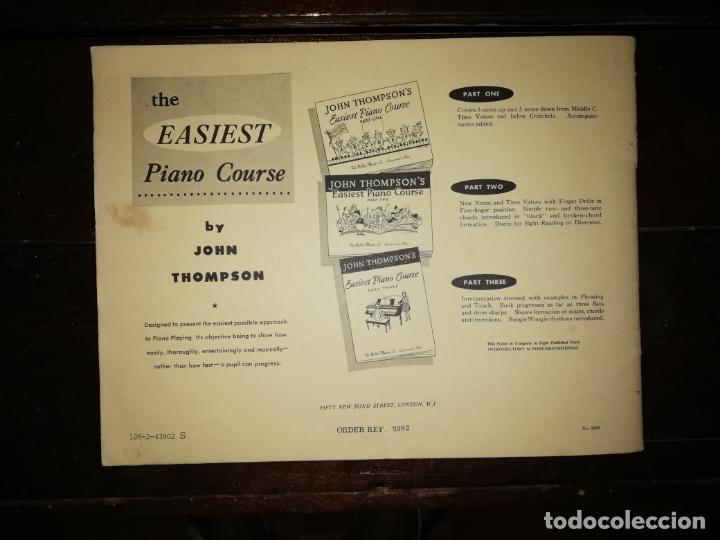Catálogos de Música: John Thompson´s Easiest Piano Course part two - libreto - (Inglés) tamaño DIN A4 aprox - Foto 6 - 134041610