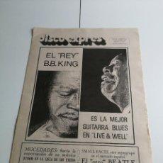 Catálogos de Música: REVISTA ' DISCO EXPRES ' Nº 96 - NOVIEMBRE 1970 ( PORTADA DE B.B. KING ). Lote 136211154
