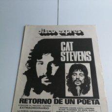 Catálogos de Música: REVISTA ' DISCO EXPRES ' Nº 158 - FEBRERO 1972. Lote 136213170