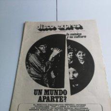 Catálogos de Música: REVISTA ' DISCO EXPRES ' Nº 159 - FEBRERO 1972. Lote 136213242