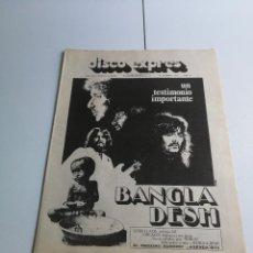 Catálogos de Música: REVISTA ' DISCO EXPRES ' Nº 160 - FEBRERO 1972. Lote 136213286