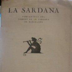 Catálogos de Música - LA SARDANA PORTANTVEU DEL FOMENT DE LA SARDANA DE BARCELONA - PORTAL DEL COL·LECCIONISTA ****** - 136451886