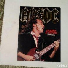 Catálogos de Música: AC/DC SACUDIDA AL SISTEMA. Lote 136669654