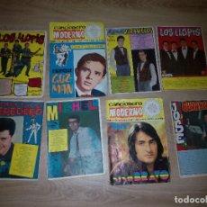 Catálogos de Música: CANCIONEROS LOTE 8 F.HEREDERO-LLOPIS-MICHEL-N.BRAVO-J.GUARDIOLA-E.GUZMAN-TONY & CHARLEY. Lote 136732858