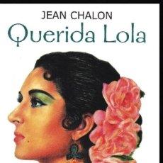 Catálogos de Música: QUERIDA LOLA - LOLA FLORES- JEAN CHALON. Lote 137812726