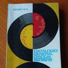 Catálogos de Música: CATÁLOGO DISCOS ZAFIRO 1963, ORIGINAL, BUEN ESTADO. Lote 137862932