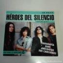 Catálogos de Música: HEROES DEL SILENCIO - ARTURO BLAY CD ROCK EDITORIAL LA MÁSCARA 1ª EDICIÓN BUNBURY HDS. Lote 138949074