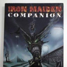 Catálogos de Música: LIBRO IRON MAIDEN - COMPANION. Lote 139115582