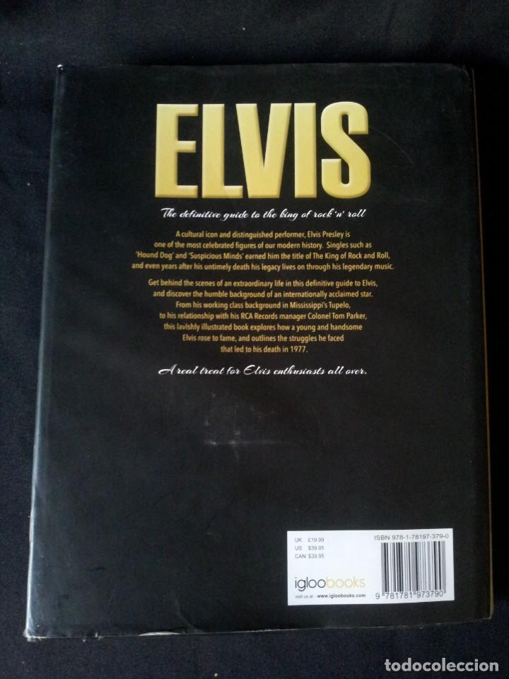 Catálogos de Música: ELVIS - THE DEFINITIVE GUIDE TO THE KING OF ROCKNROLL - IGLOO BOOKS 2013 - IDIOMA INGLES - Foto 2 - 139874234