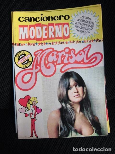 CANCIONERO ORIGINAL FONDO DE EDITORIAL BARCELONA MARISOL NUEVO MARAVILLA AÑOS 70 (Música - Catálogos de Música, Libros y Cancioneros)