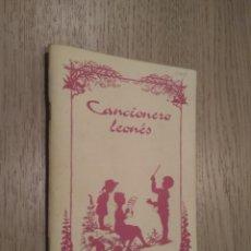 Catálogos de Música: CANCIONERO LEONES . Lote 140089066