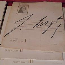 Catálogos de Música: I GRANDI MUSICISTI FRATELLI. 14 TOMOS VINILOS SIN USO. VIVALDI, PAGANINI, FRANZ LISZT, MENDELSSOHN,. Lote 140224928
